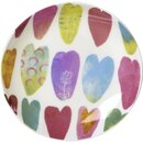IHR RAINBOW HEARTS Bone China Teller