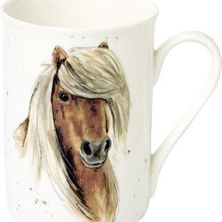 IHR FARMFRIENDS HORSE Bone China Becher