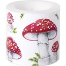 IHR FAIRY TALE MUSHROOMS Windlicht D 7,5 x H 7,5 cm