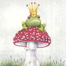 IHR LUCKY FROG Lunch-Servietten 33 x 33 cm